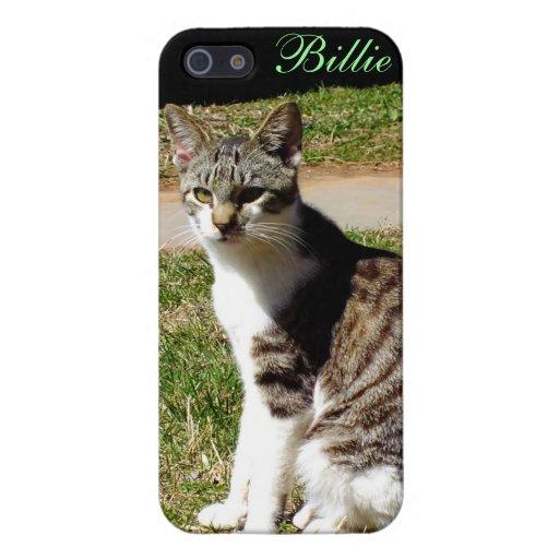 Tigre y caja blanca del iPhone 5 del gatito iPhone 5 Cobertura