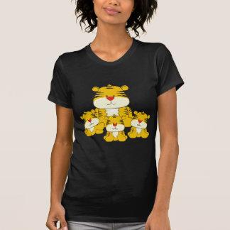 Tigre y Cubs Camiseta