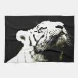 Tigre y esperanza toallas de mano
