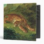 Tigre y serpiente, 1858