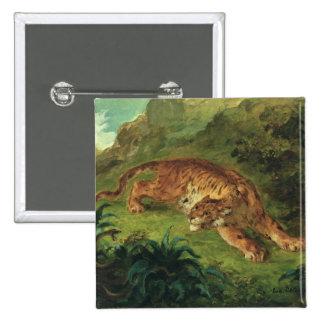 Tigre y serpiente, 1858 pins