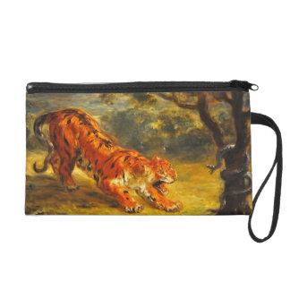Tigre y serpiente de Eugene Delacroix-
