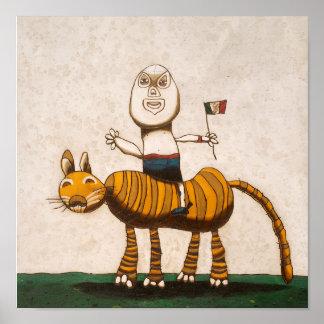 Tigre y yo posters