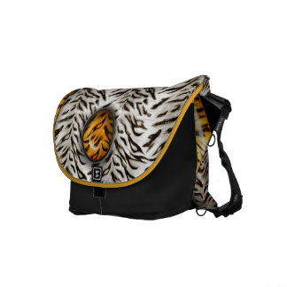 Tigre Yin Yang Bolsa Messenger