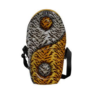 Tigre Yin Yang Bolsas De Mensajeria
