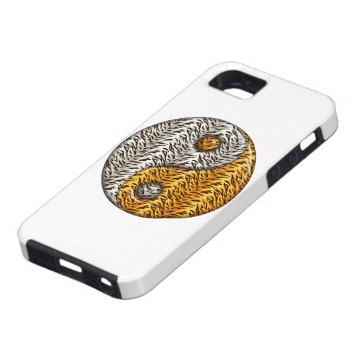 Tigre Yin Yang iPhone 5 Case-Mate Protectores