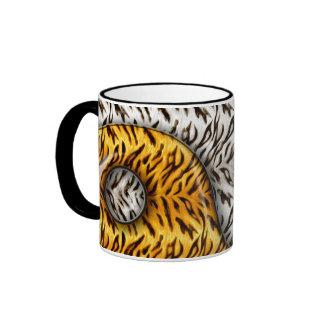 Tigre Yin Yang Taza