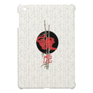 Tigre zodiaco chino iPad mini cobertura