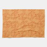 Tigres anaranjados toalla