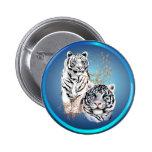 Tigres blancos - botones pins