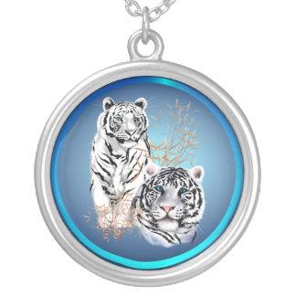 Tigres blancos - collar