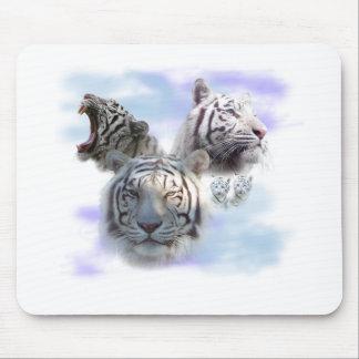Tigres blancos tapetes de raton