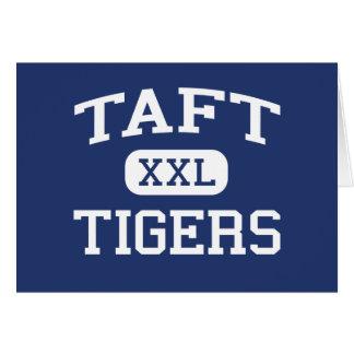 Tigres Brighton media Massachusetts de Taft Felicitación