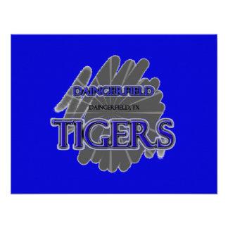 Tigres de la High School secundaria de Daingerfiel Anuncios