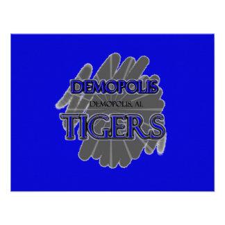 Tigres de la High School secundaria de Demopolis - Comunicados