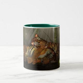 Tigres en la taza del amor, Año Nuevo chino, año