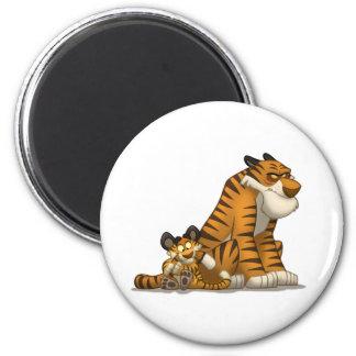 Tigres en un imán