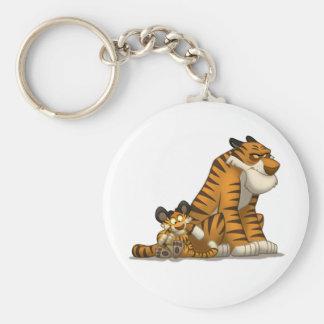 Tigres en un llavero