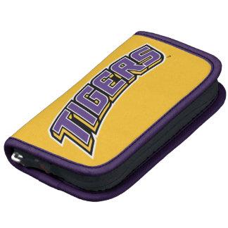 Tigres - púrpura, oro y negro organizador
