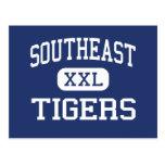 Tigres surorientales Mississippi meridiano medio Tarjetas Postales