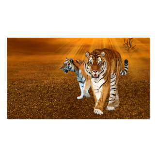 Tigres Tarjetas De Visita