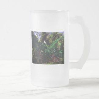 tigres taza de cristal