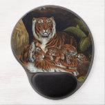 Tigres y Cubs Alfombrillas Con Gel