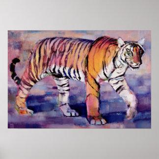 Tigresa Khana la India 1999 Póster