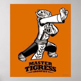 Tigresa principal Ironfist Póster