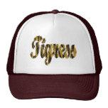 Tigresa - texto peludo gorras