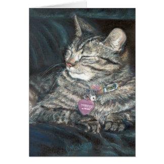 Tigress Happy Birthday Tiger Kitty Card