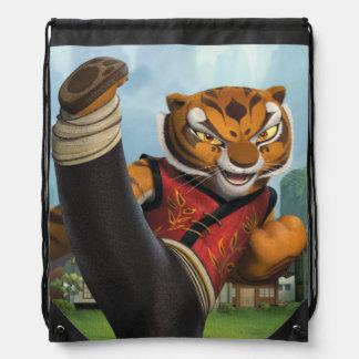 Tigress Kick Drawstring Bag