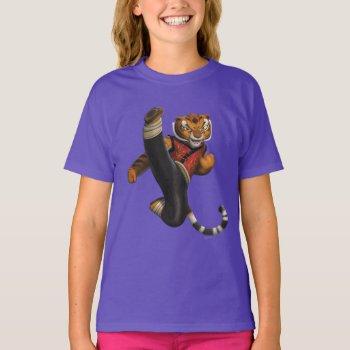 Tigress Kick T-shirt by kungfupanda at Zazzle