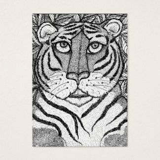 """Tigress Soul"" ACEO Art Trading Card"