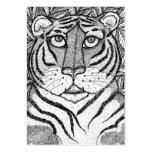 """Tigress Soul"" ACEO Art Trading Card Business Card Templates"