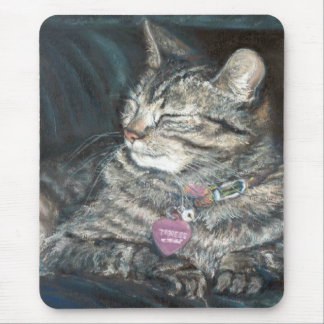 Tigress Tiger Kitty Mousepad