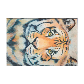 TIGRIS Oil Painted Tiger Print (36x24in)