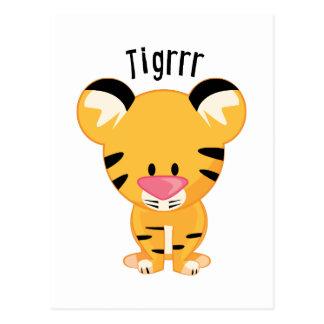 Tigrrr Post Card