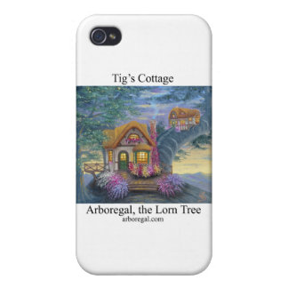 Tigs Cottage T iPhone 4/4S Covers