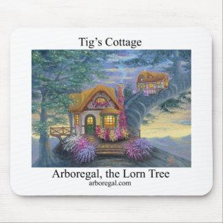 Tigs Cottage T Mousepad