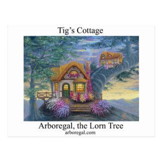 Tigs Cottage T Postcard