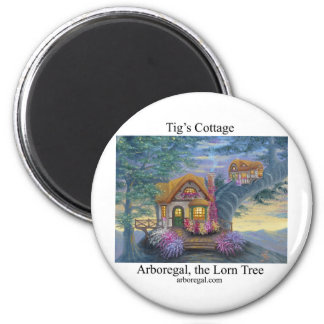 Tigs Cottage T Refrigerator Magnets