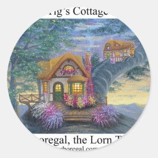 Tigs Cottage T Sticker