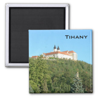 Tihany 2 Inch Square Magnet