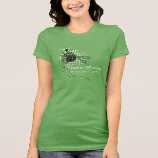Tijeras de costura del acerico de las nociones del tshirt