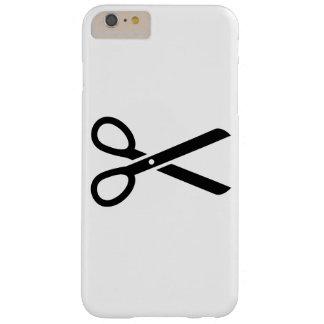 Tijeras negras funda barely there iPhone 6 plus