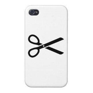 Tijeras negras iPhone 4 funda
