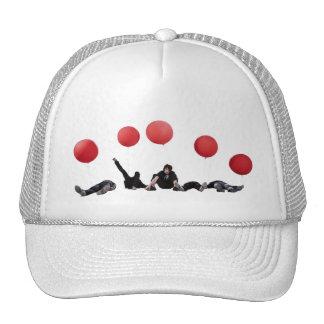 Tijeras para el zurdo gorras