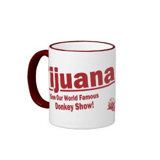 Tijuana Donkey Show Funny Coffee Mug