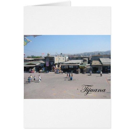 Tijuana México 2 Tarjeta De Felicitación